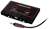Monster 133218-00 Icarplay Cassette Adapter - Black