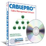 CablePro: Cable Management Software for IT & Telecommunication Professionals, Cabling Contractors and Campus Users. CablePro is compliant with ANSI/TIA/EIA 606-A Standards. Create Cabling Design Specifications & As Built Cable Management Documents. Use CablePro to generate or maintain Visio Shape Data. (2-20 additional users optional)