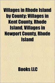 Villages In Rhode Island By County