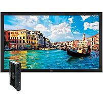 "Nec Monitor 65"" Digital Signage Solution W/ V652 & Single Board Computer - 65"" Lcd - 1920 X 1080 - Edge Led - 450 Nit - 1080p - Hdmi - Dvi - Serialethernet - Black V652-pc2"