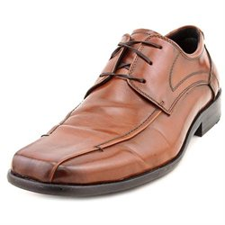 Kenneth Cole Reaction All A-Board Mens Brown Faux Leather Oxfords Shoes