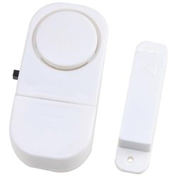 Wireless Security Alarm System for Protecting Your Apartment and House   Free Batteries - 6 Pack