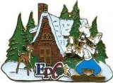 Disney Pins - Gingerbread Houses 2009 - Epcot - Goofy - Limited Edition Pin 74070
