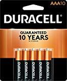 Duracell Coppertop Alkaline AAA Batteries - 10 Count