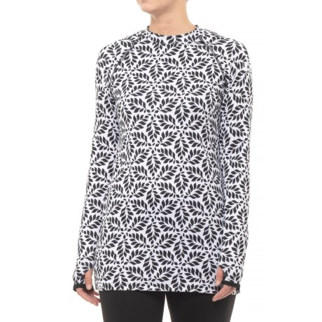 Raven Base Layer Tunic Shirt - Long Sleeve (for Women)