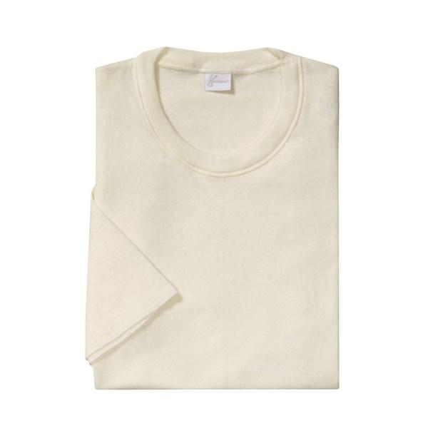 Medima Merino Wool-angora Shirt - Extra Long, Lightweight, Short Sleeve (for Men)