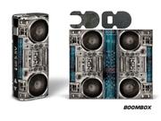 Designer Decal For Eleaf Istick 20w Vape - Boombox