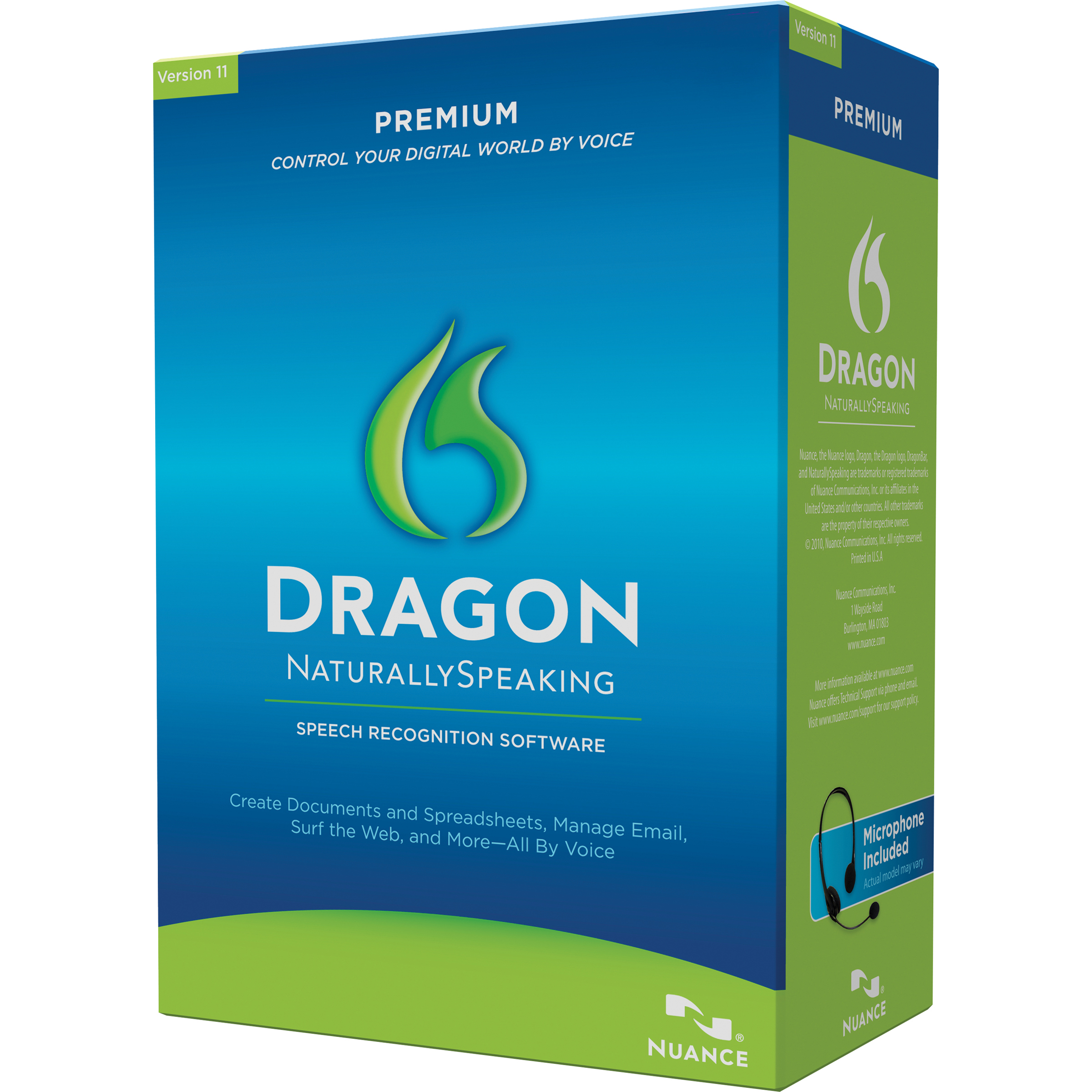 Dragon NaturallySpeaking Premium 11.0