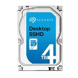 Seagate 4TB Gaming SSHD(Solid State Hybrid Drive)  SATA 6Gb/s 64MB Cache 3.5-Inch Internal Bare Drive (ST4000DX001)
