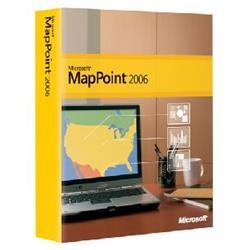Microsoft MapPoint 2006 - Complete Product - 1 User - Maps/Traveling - Standard Retail - PC