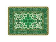 Bungalow Flooring 20491052231 Tabriz Mat In Green - 1.83 Ft. X 2.58 Ft.
