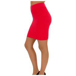 D&K Women's Nylon Fashionable Thin Line Skirt