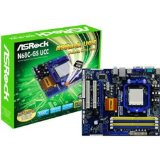 ASRock N68C-GS UCC Socket AM3 Mainboard w/ nVidia geForce 7025 Video Onboard, DDR3 AND DDR2 Support