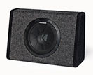 Kicker 11pt8 Single Subwoofer Enclosure With 90-watt Amplifier