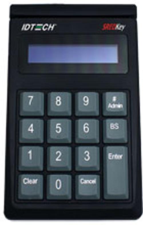 Id Tech Idsk-534833teb Card Reader - Usb Keyboard - Tdes Encryption - Black