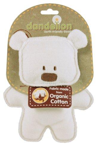 Dandelion Organic Toy Crinkle Bear