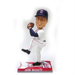 Forever Collectibles Boston Red Sox Josh Beckett Action Bobblehead