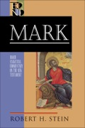 In this new addition to the BECNT series, respected New Testament scholar Robert Stein offers a substantive yet highly accessible commentary on the Gospel of Mark