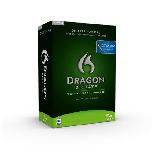 Dragon Dictate with Bluetooth, Version 2, Mac