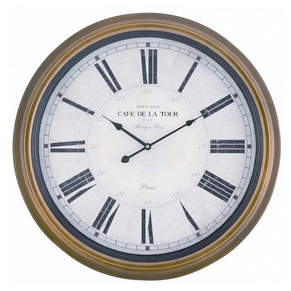 Henley Clock - by Cooper Classics - 4819