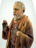 Resin Saint St Padre Pio Pius 8 Inch Statue Figure Home Office Desk Decor