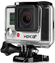 GoPro HERO 3 Plus CHDCB 302 10.1 Megapixel Action Camera   1080p   Waterproof, Shockproof   HDMI   Silver