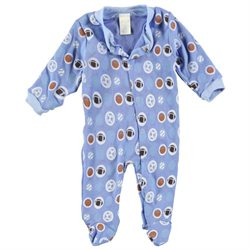 Nursery Baby Baby Boys' All Sports Footed Coverall