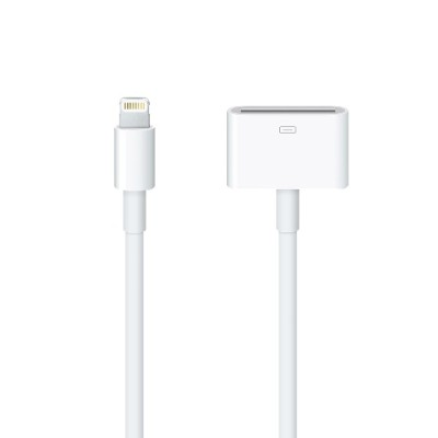 Apple Md824am/a Lightning To 30-pin Adapter (0.2 M)