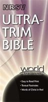 Nrsv Ultra-trim Bible: Bonded Leather With Zipper - Black