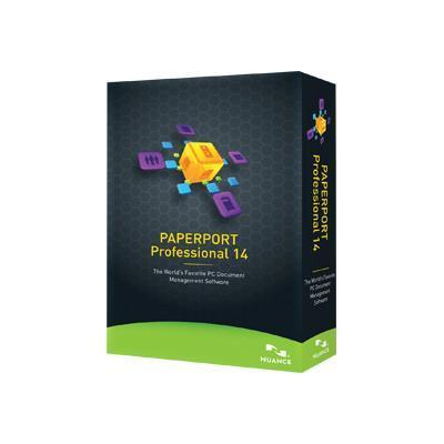Nuance Communications F309a-g00-14.0 Paperport Professional - (v. 14) - Box Pack - 1 User - Dvd - Win - English - United States