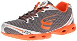 SPIRA Men's Stinger 2 Running Shoe,Charcoal/Orange/Metal,10.5 D US