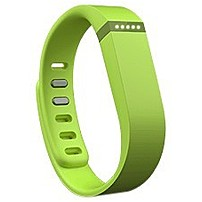 Fitbit Flex Wireless Activity   Sleep Wristband - Wrist - Accelerometer - Alarm - Heart Rate - Bluetooth - Bluetooth 4.0 - Near Field Communication - 120 Hour - Lime - Elastomer, Stainless Steel Clasp - Tracking, Health & Fitness - Water Resistant - Elast Fb401le