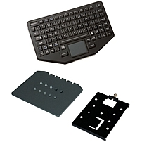 Havis Ikey Keyboard - Cable Connectivity - Usb Interface - 86 Keytouchpad - Compatible With Vehicle Mount Computer - Emergency Hot Key(s) - Qwerty Keys Layout Pkg-kb-102