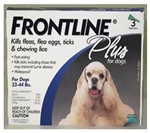 Frontline 45-88-6pk-ps Application Plus For Dogs And Puppies 45-88lb