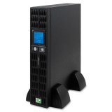 UPS Power System,w/ LCD Screen,8 Outlets,1000 Watts,Black