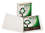 Samsill 18917 Earth's Choice Biodegradable Round Ring View Binder, 1/2