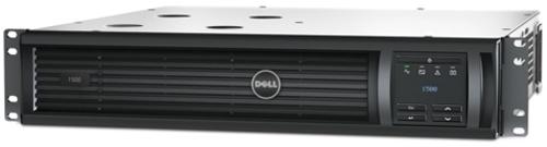 Dell Dlt1500rm2u 1500rm Smart Ups - 2u - 16 Segment Led Display - Rs-232, Usb - Black