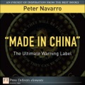 This Element is an excerpt from The Coming China Wars: Where They Will Be Fought and How They Can Be Won (ISBN: 9780132359825) by Peter Navarro.Available in print and digital formats