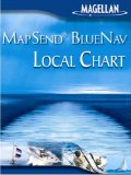 Magellan MapSend BlueNav Local Chart Los Angeles/San Diego Salt/Freshwater Map microSD Card