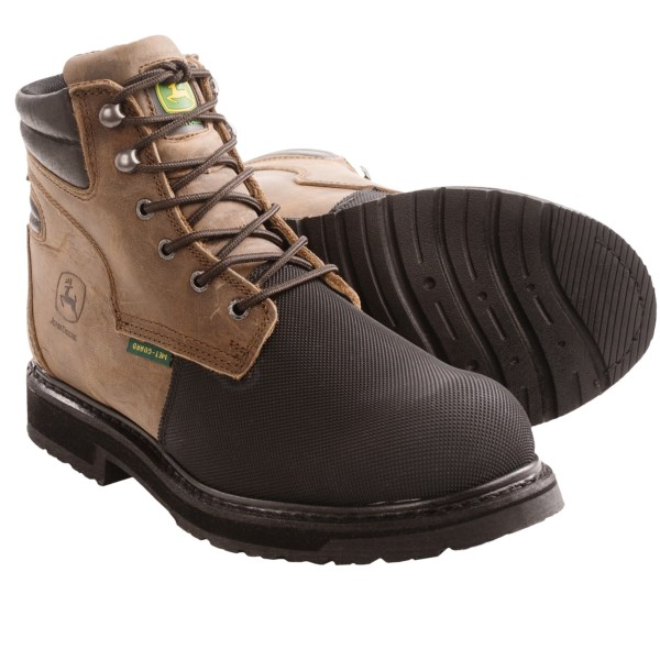 John Deere Footwear EH Work Boots - Safety Toe (For Men)