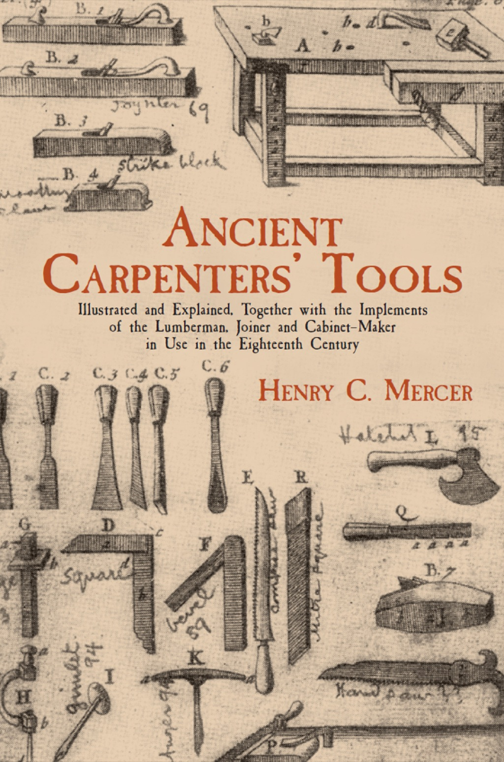 Ancient Carpenters' Tools (ebook)