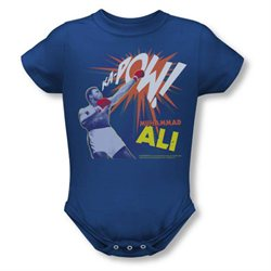 Wicked Tees Baby-Boys Ali Ka Pow X-Large Royal T-Shirt