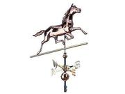 Copper Horse Weathervane - Verdigris