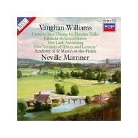 Ralph Vaughan Williams - Tallis Fantasia/Greensleves (Asmif/Marriner) (Music CD)