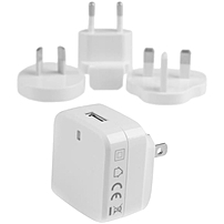 Startech.com Usb Wall Charger With Quick Charge 2.0 - White - Travel Charger (international) - 120 V Ac, 230 V Ac Input Voltage - 5 V Dc, 9 V Dc, 12 V Dc Output Voltage - 1.80 A Output Current Usb1pacvwh