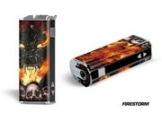 Designer Decal For Eleaf Istick 30w Vape - Firestorm