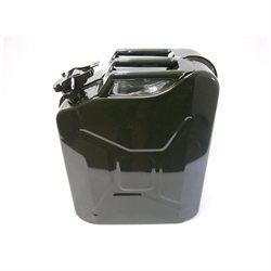 New 5 Gallon Spill Proof Metal Military JERRY CAN For Fuel Gas Gasoline Diesel