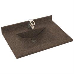 Swanstone Bathroom Vanity Countertop CV-2225-094 22''D x 25''W, Sierra