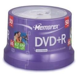 Memorex Lightscribe 16x DVD R Media - 4.7GB - 50 Pack