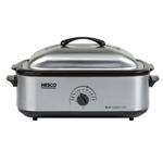 Nesco 4818-25pr 18 Qt Stainless Steel - Porcelain Cookwell